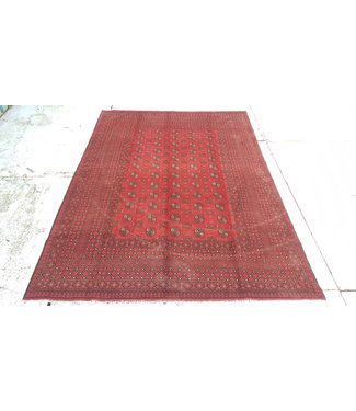 Afghan aqcha tapijt hand geknoopt  9.31x6.66feet or 284x203cm