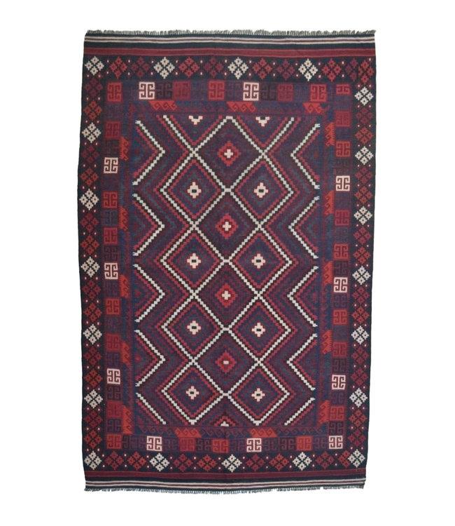 kelim  312 x 198  cm   vloerkleed tapijt kelims hand geweven