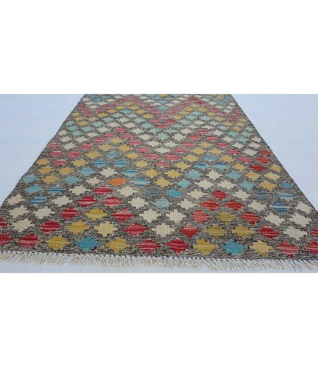 kelim kleed  145 x 92 cm vloerkleed tapijt kelims hand geweven