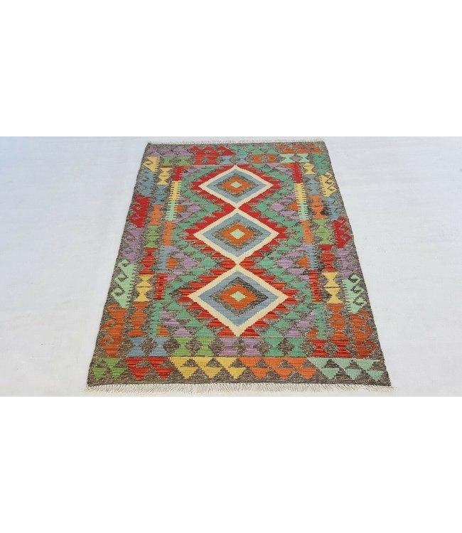 kelim kleed  144x107 cm vloerkleed tapijt kelims hand geweven
