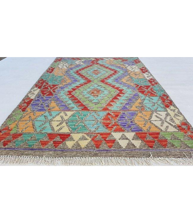 kelim kleed  149x100 cm vloerkleed tapijt kelims hand geweven