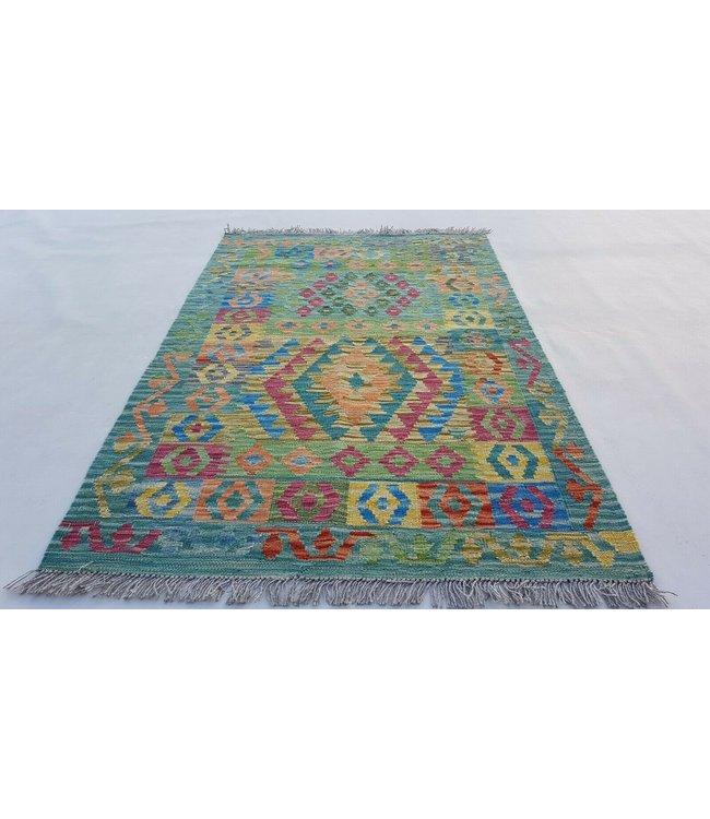 kelim kleed  150x97 cm vloerkleed tapijt kelims hand geweven