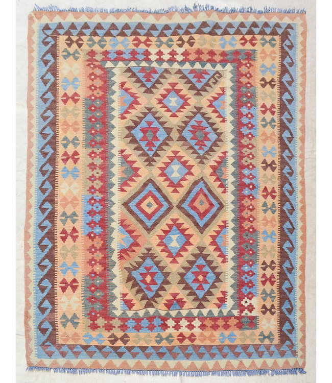 kelim tapijt 210x158 cm