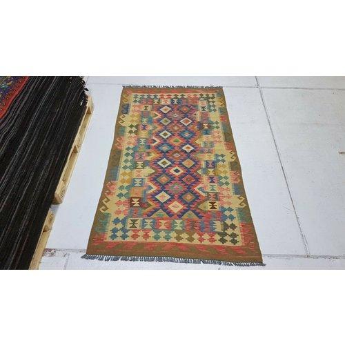 kelim kleed 198x115 cm vloerkleed tapijt kelims hand geweven