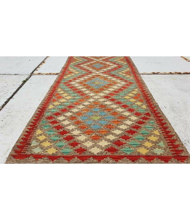 kelim kleed 292x90 cm vloerkleed tapijt kelims hand geweven