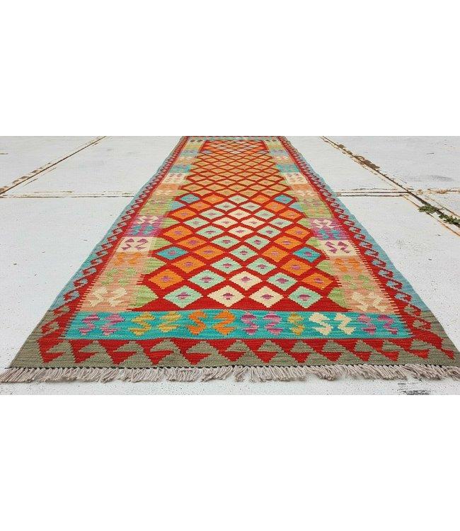 kelim kleed 298x94 cm vloerkleed tapijt kelims hand geweven