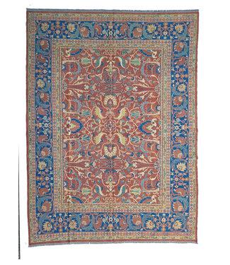 Stylish Handmade 11'15X8'79 Sumak Kilim Area Rug Weave 340X268 cm