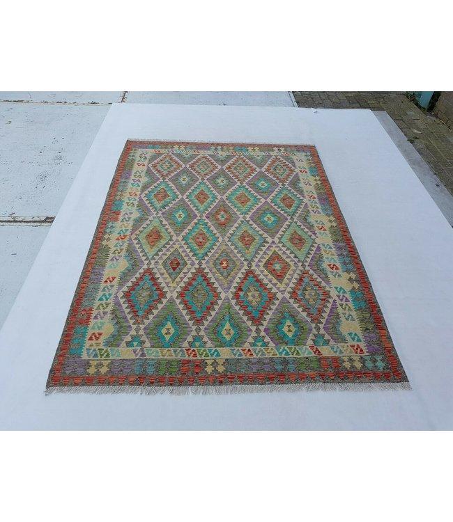 kelim kleed 239x179 cm vloerkleed tapijt kelims hand geweven