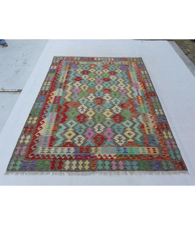 kelim kleed 233x182 cm vloerkleed tapijt kelims hand geweven