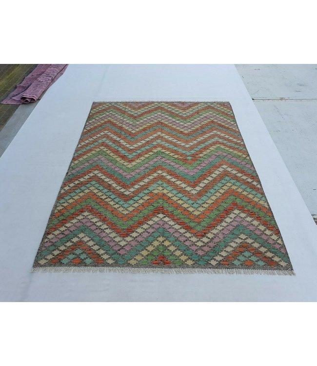 kelim kleed 234x184 cm vloerkleed tapijt kelims hand geweven