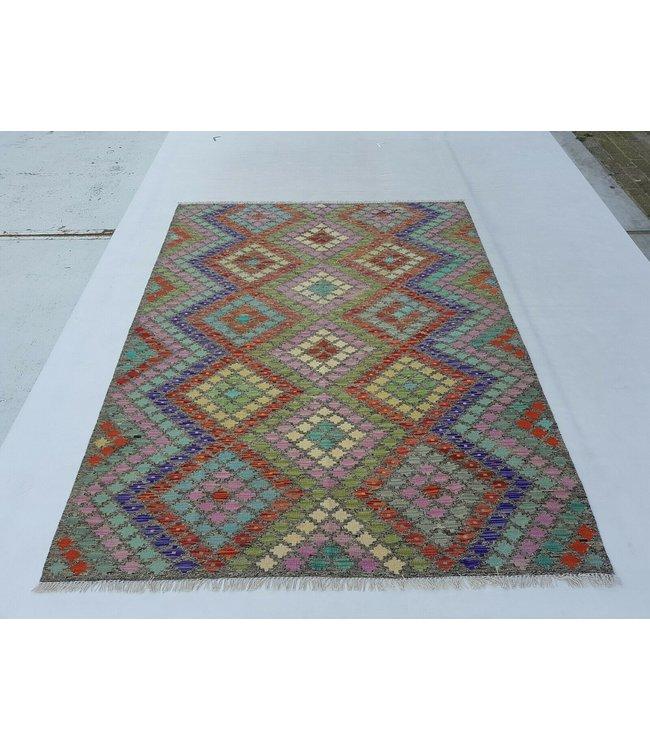 kelim kleed 230x175 cm vloerkleed tapijt kelims hand geweven