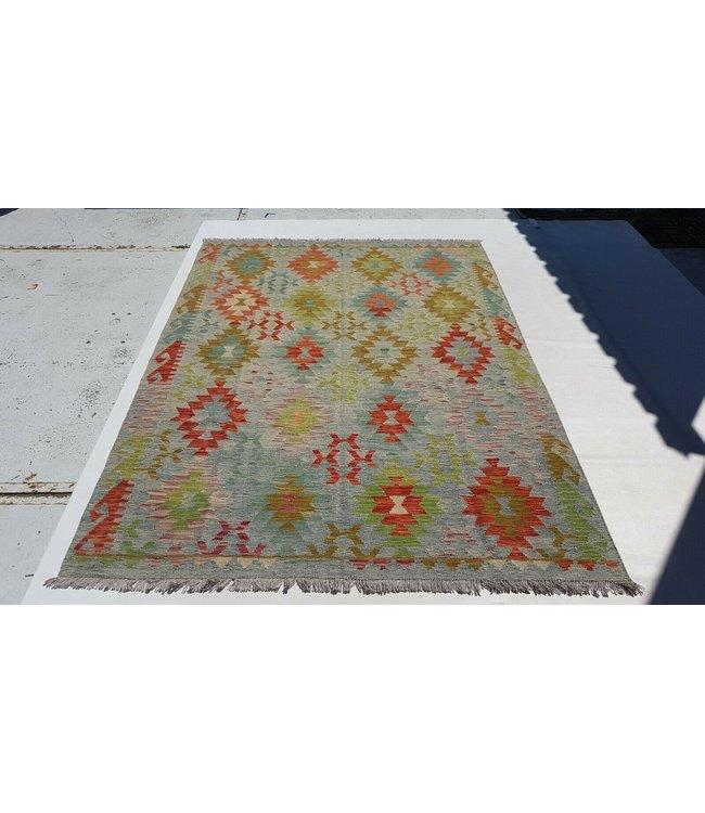 kelim kleed 243x174 cm vloerkleed tapijt kelims hand geweven