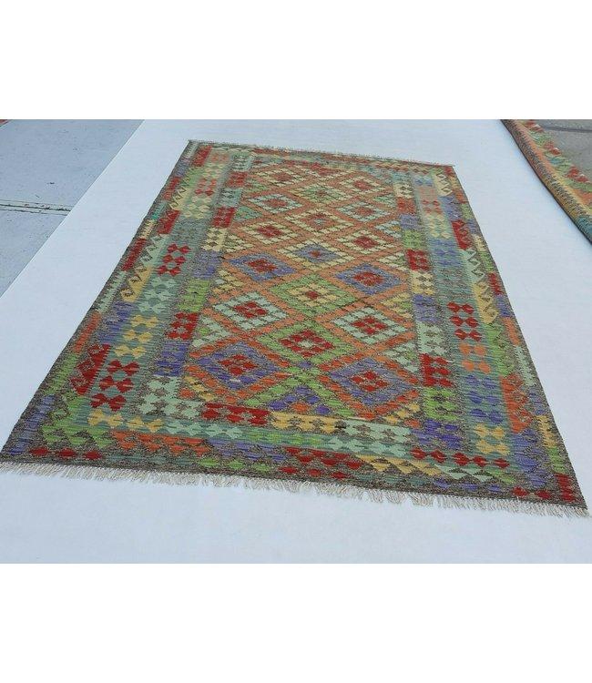kelim kleed 246x180 cm vloerkleed tapijt kelims hand geweven