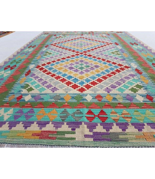 kelim kleed 245x162 cm vloerkleed tapijt kelims hand geweven