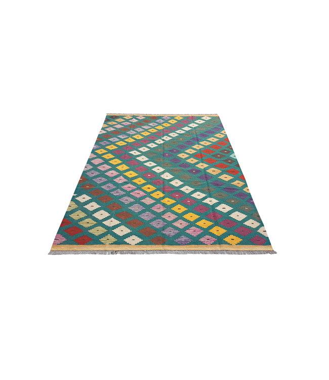 kelim kleed   297x201 cm vloerkleed tapijt kelims hand geweven