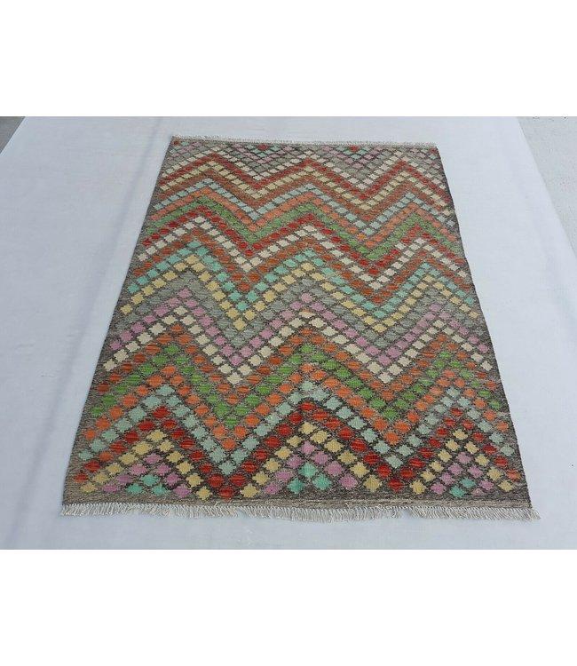 kelim kleed 195x151 cm vloerkleed tapijt kelims hand geweven