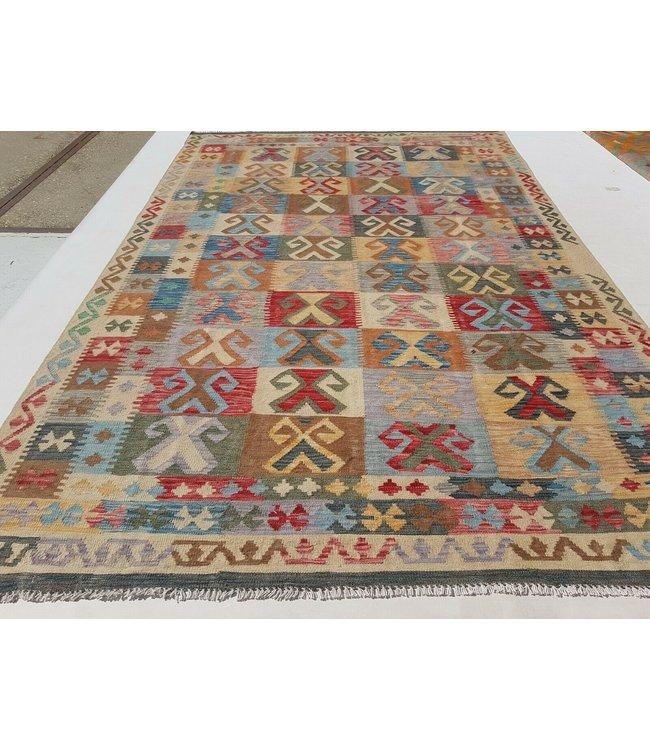 kelim kleed 296x187 cm vloerkleed tapijt kelims hand geweven