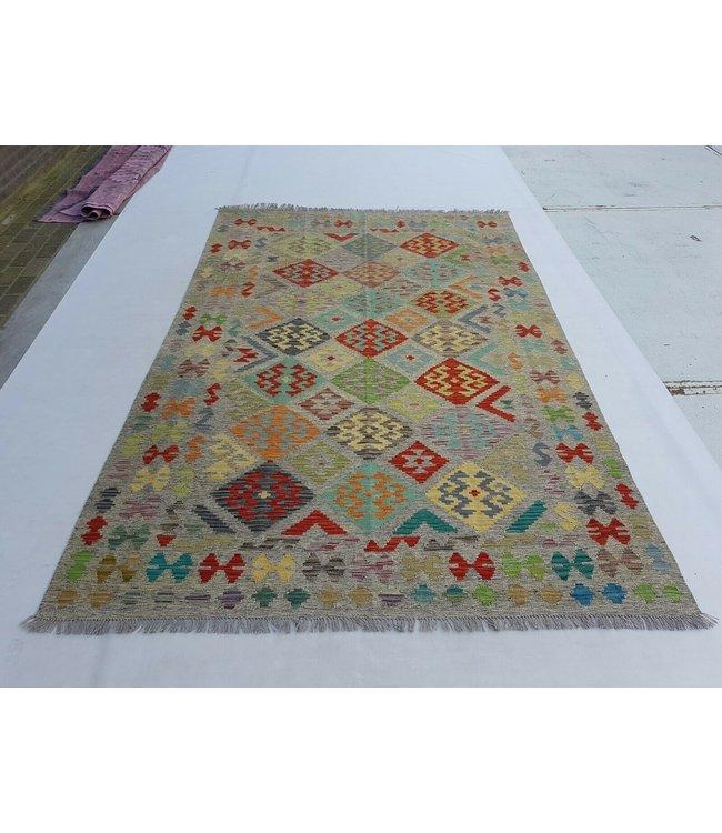 kelim kleed 299x196  cm vloerkleed tapijt kelims hand geweven