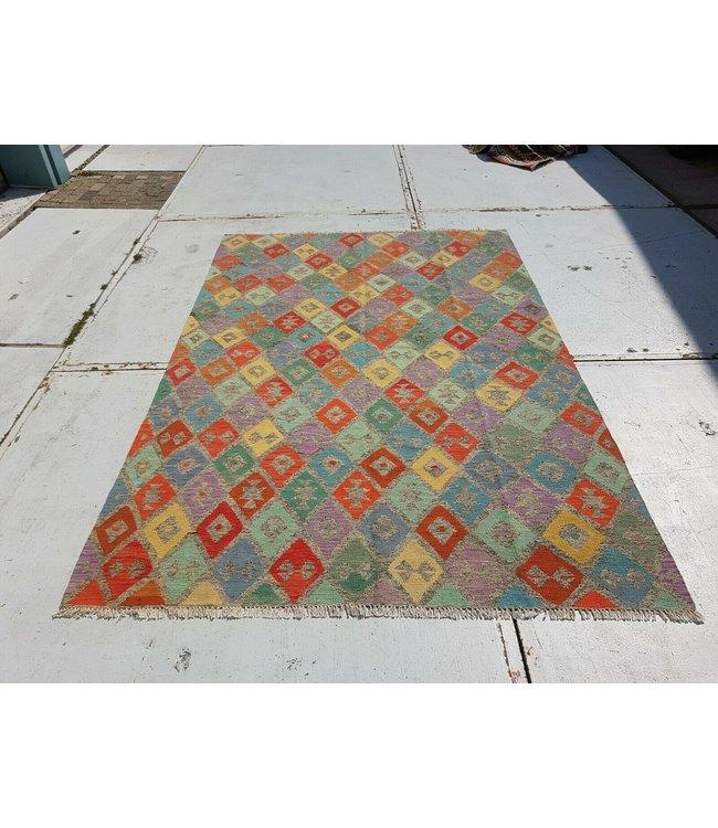 kelim kleed 293x200 cm vloerkleed tapijt kelims hand geweven
