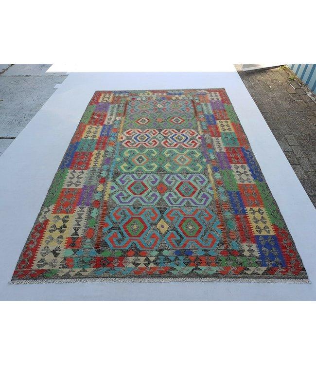kelim kleed 295x194 cm vloerkleed tapijt kelims hand geweven