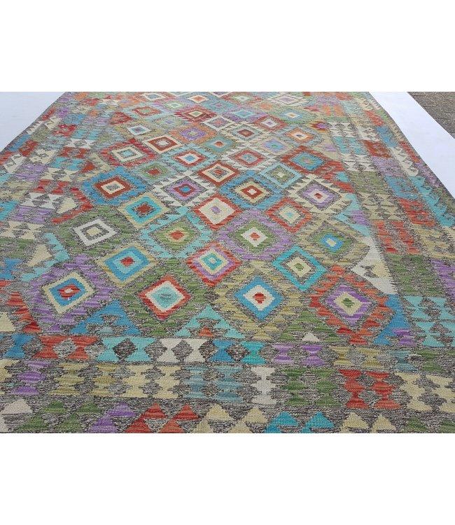 kelim kleed 295x201 cm vloerkleed tapijt kelims hand geweven