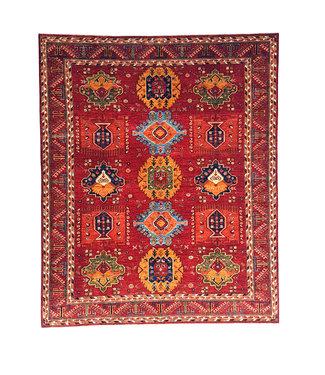 super fijn oriental kazak vloerkleed 301x252 cm