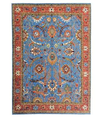 (13'7 x 10') feet super fine oriental kazak rug 419x307 cm