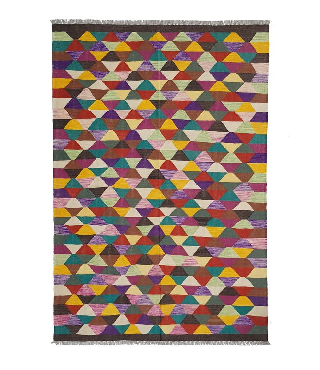 kelim kleed 296x202 cm vloerkleed tapijt kelims hand geweven