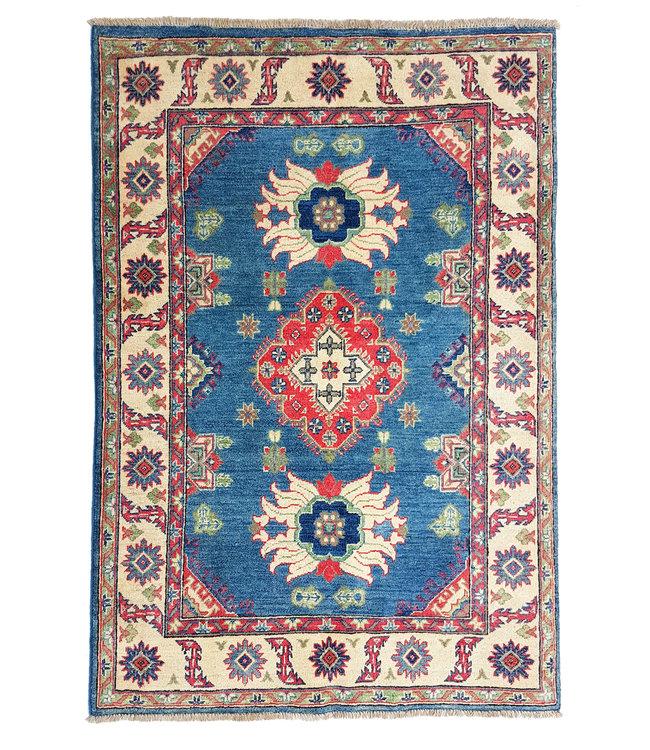 Handgeknoopt kazak tapijt 163x122 cm  oosters kleed vloerkleed