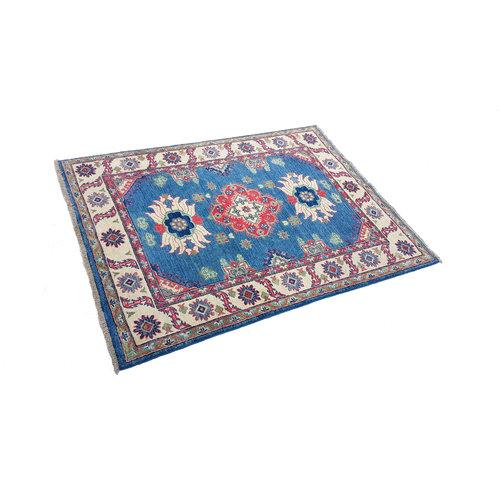 Handgeknüpft wolle kazak teppich  163x122 cm   Orientalisch teppichboden