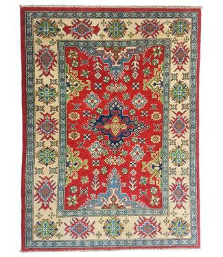 Hand knotted  5'2x4'0 wool kazak area rug  159x123 cm  Oriental carpet