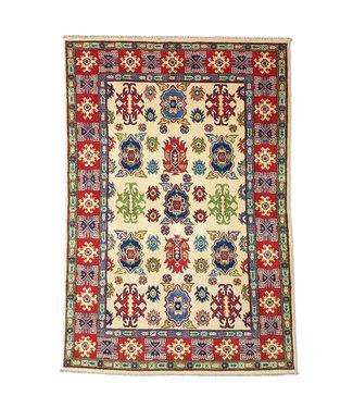 Hand knotted  6'1x3'9 wool kazak area rug 186x121 cm  Oriental carpet
