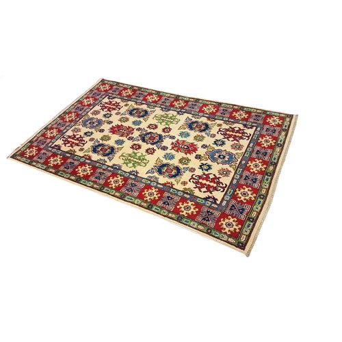 Handgeknüpft wolle kazak teppich  186x121 cm   Orientalisch teppichboden