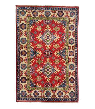 Hand knotted  5'9x3'9 wool kazak area rug 180x120 cm  Oriental carpet