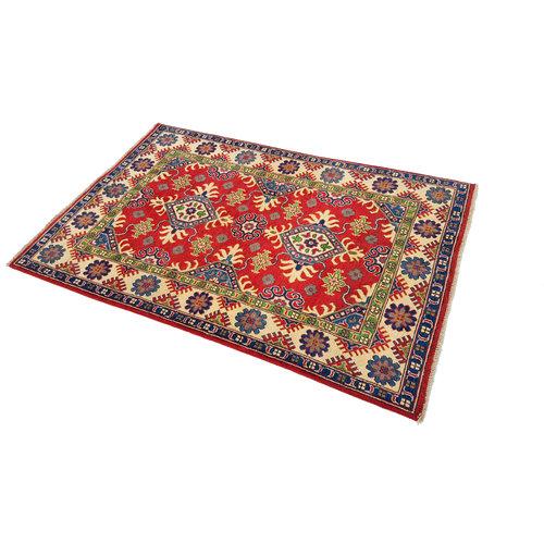 Handgeknüpft wolle kazak teppich  180x120 cm   Orientalisch teppichboden