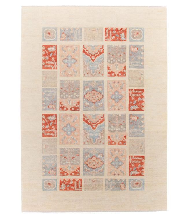 Handgeknoopt Modern Art tapijt 358x252 cm  oosters kleed vloerkleed