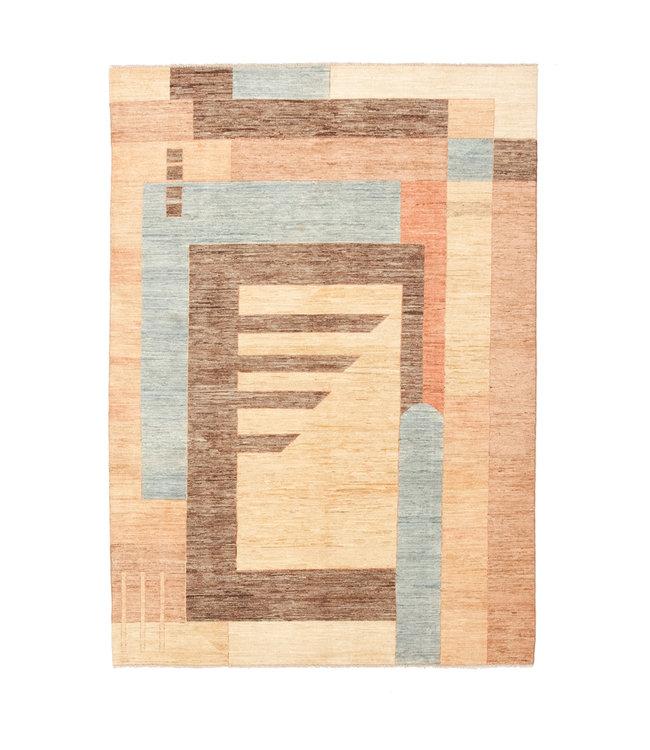 Handgeknoopt Modern Art tapijt 240x170 cm  oosters kleed vloerkleed
