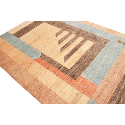Handgeknüpft Modern Art 240x170 cm Abstrakt Wolle Teppich