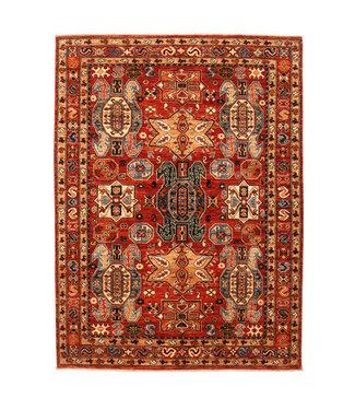 super fein oriental kazak teppich 238x174 cm Abstrakt Wolle Teppich
