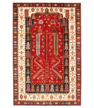 super fijn oriental kazak vloerkleed 300x197 cm