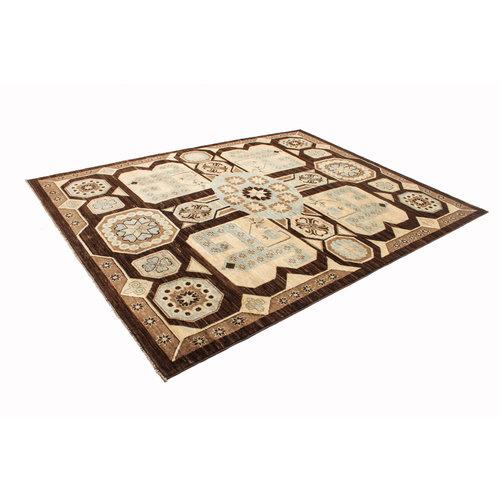 Handgeknüpft  ziegler teppich  Farahan 244x192 cm Abstrakt Wolle Teppich