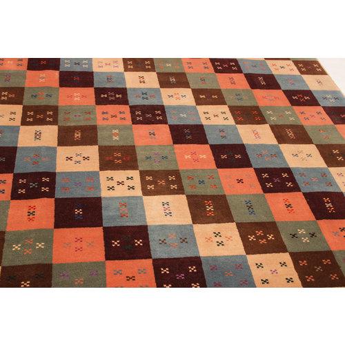 Handgeknüpft Modern 235x182 cm Abstrakt Wolle Teppich
