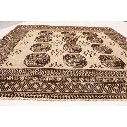 afghan aqcha teppich 225x197 cm