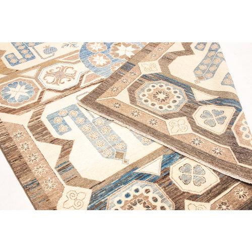 Handgeknüpft Modern Art 246x195 cm Abstrakt Wolle Teppich