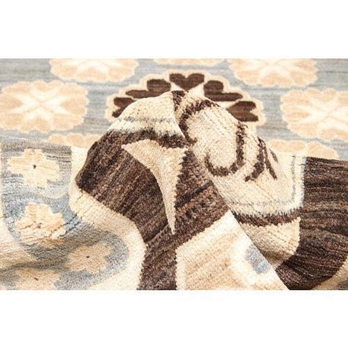Handgeknüpft Modern Art 244x195 cm Abstrakt Wolle Teppich