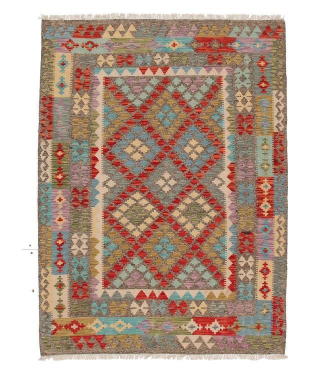 kelim kleed 203x153 cm vloerkleed tapijt kelims hand geweven