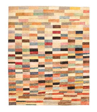 Handgeknoopt Modern  tapijt 241x198 cm  oosters kleed vloerkleed