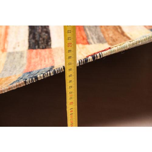 Handgeknüpft Modern  241x198 cm Abstrakt Wolle Teppich