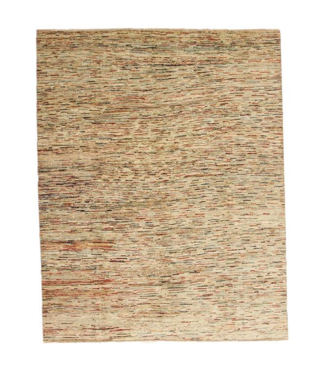Handgeknoopt Modern stribe tapijt 258x202 cm  oosters kleed vloerkleed