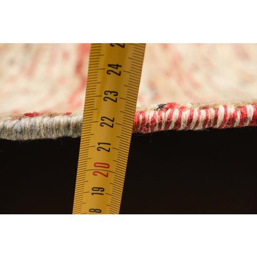 Handgeknüpft Modern stribe 258x202 cm Abstrakt Wolle Teppich